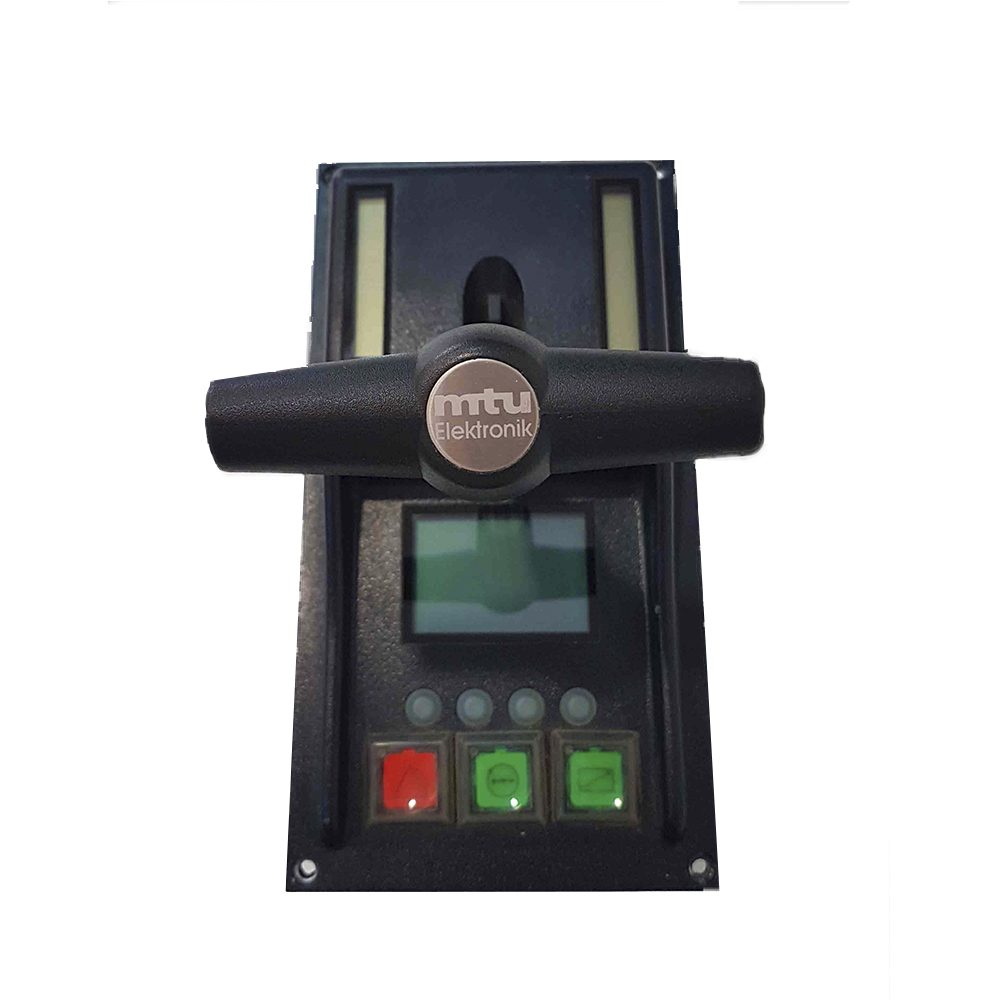 Control lever MTU ROS 2 installed on system RCS-5 FPP/B